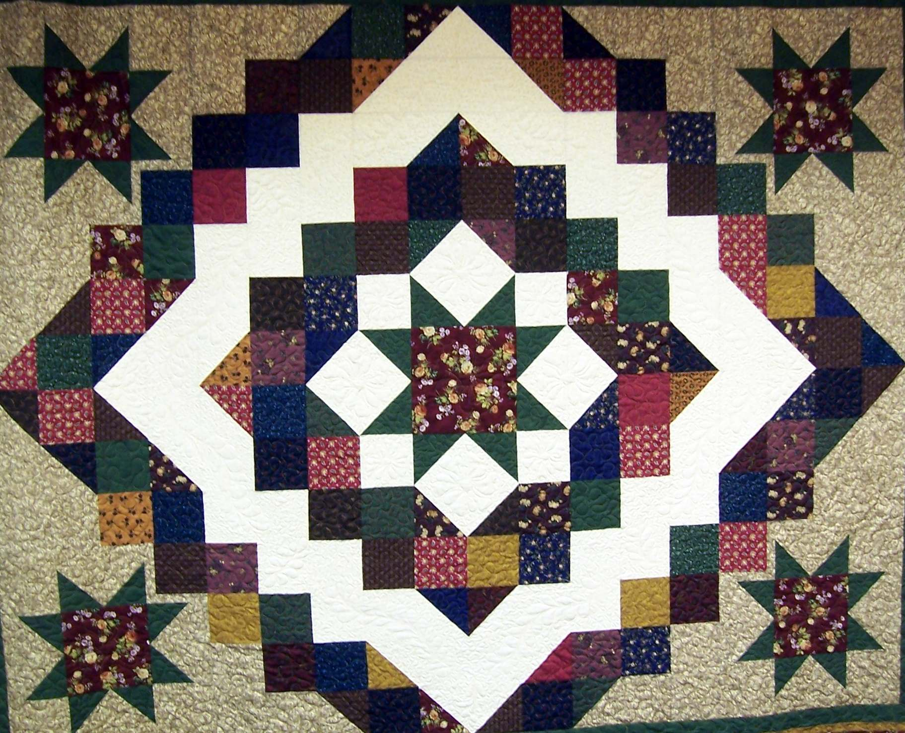 Quilt Give away Augusta Wisconsin