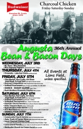 Bean and Bacon Days 2013