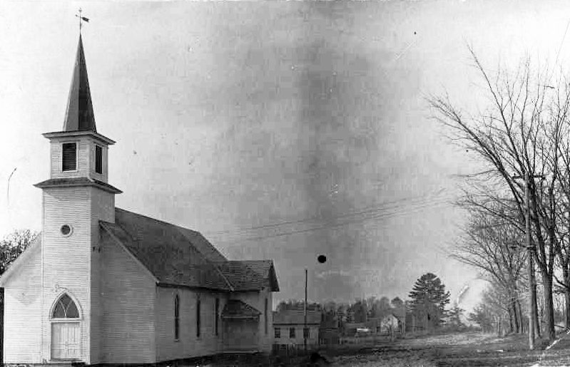 Augusta Wisconsin 1930s Grace Luthern Church