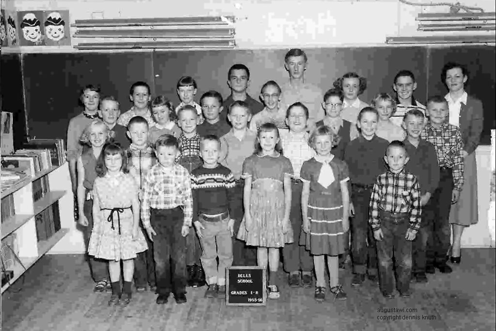 Dells Mill Class of 1956 One hundred fifty years after Augustas founding