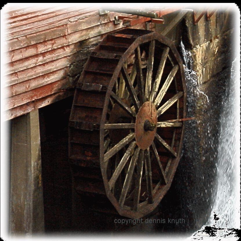 Wheel Mill Mill Mater Wheel Augusta