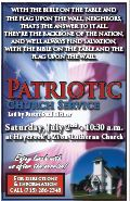 Bean and Bacon Days 2016 Patriotic Church Service
