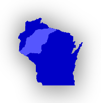 Chippewa Valley Map Wisconsin