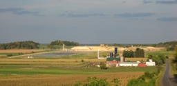 Sand Mine in Eau Claire County in the Town of Bridgecreek near Augusta